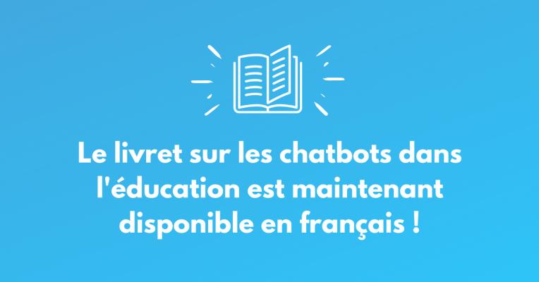 Booklet announcement - fr